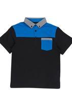 Retro Fire - Boys Golfer Multi-colour