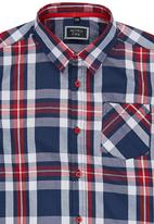 Retro Fire - Boys Check Shirt Multi-colour