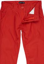 Retro Fire - Boys Twill pants Mid Brown