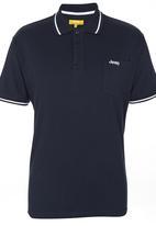 JEEP - Short Sleeve Golfer Navy Navy