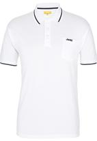JEEP - Short Sleeve Golfer White White