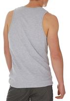 edge-trigger - Printed Fashion Vest Pale Grey