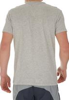 Russell Athletic - Printed crew-neck tee Grey
