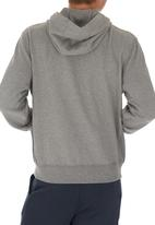 Russell Athletic - Zip through hoody Grey