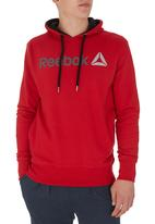 Reebok Classic - Reebok Logo Hooded Pullover Red
