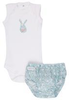 Pickalilly - Bunny Diaper cover set Multi-colour
