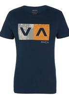 RVCA - Counter Balance Tee Navy