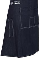 REAL + SIMPLE - Real + Simple Apron Blue black denim