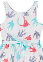 POP CANDY - Swallow Print Dress Multi-colour