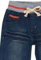 POP CANDY - Denim Shorts Mid Blue