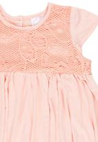 See-Saw - Empire waist dress Pale Pink