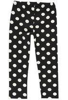GUESS - Polka Dot Leggings Black and White