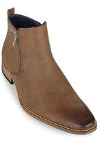 Gino Paoli - Gino Paoli Burnish Boots Mid Brown