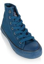 Cutty - Hi-Top Mono Sneaker Dark Blue