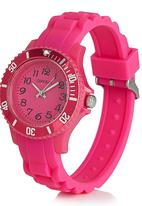 Cool Kids - Sporty Watch Dark Pink
