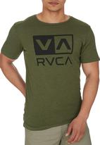 RVCA - Big RVCA Marle STD Tee Green