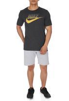 Nike - Nike Tee-Oversized Speckle Futura Black