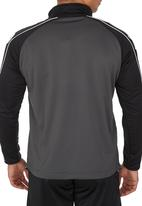 Patrick - Granada Zip Sweater Grey