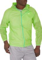 New Balance  - New Balance ultra hooded jacket Light Green