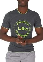 Lithe - Awesome Creative Agency - Single Jersey Colourtip Tee Dark Grey