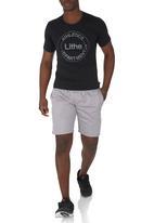 Spree Designer - Single Jersey Colourtip Tee Black
