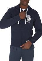 Russell Athletic - Rosette Zip-through Hoodie Navy