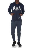 Russell Athletic - Zip through hoody Navy