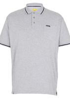 JEEP - Short Sleeve Golfer Grey