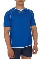 Patrick - Girona Short-sleeve Shirt Mid Blue