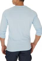 edge - Embroidered Long sleeve Pale Blue