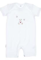 Nocturnal Affair. - Teddy and Bee Romper White