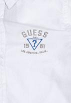 GUESS - Boys Structured Shirt White