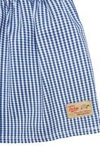TORO CLOTHING - Checked Skirt Multi-Colour