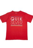Quiksilver - Boys T-shirt Red