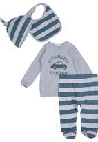 Sticky Fudge - Louis gift set. Grey