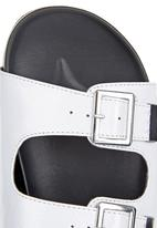 Madison® - Sandals with Buckles White
