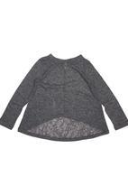 Precioux - Charcoal knit top Dark Grey