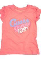 GUESS - Guess Heart T-shirt Coral