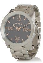 Nixon - Corporal Gray Sunray Silver
