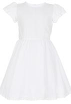 See-Saw - Anglaise Dress White