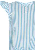 See-Saw - Tie top Blue and White