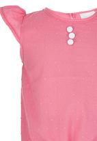 See-Saw - Tie top Mid Pink