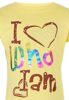 POP CANDY - I love who I am Tshirt Yellow
