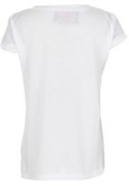 POP CANDY - Surf Top White