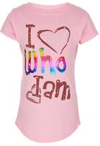 POP CANDY - I love who I am Tshirt Mid Pink