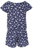 See-Saw - Playsuit Blue and White