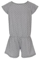 See-Saw - Playsuit Black and White