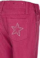 POP CANDY - Capri Pants Dark Pink