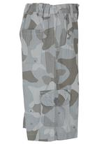POP CANDY - Camo shorts Grey