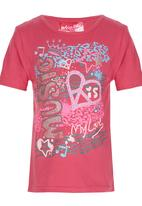 POP CANDY - Printed Tshirt Mid Pink